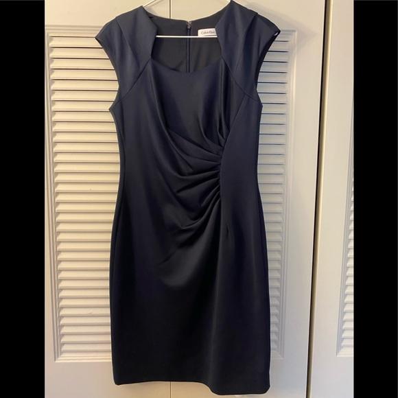 Calvin Klein Dresses & Skirts - Calvin Klein navy dress